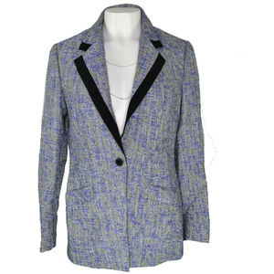 Anne Klein Womens Collared Lapel Blazer New